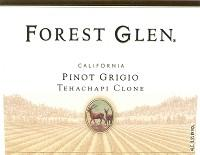 Forest Glen Pinot Grigio Tehachapi Clone 750ml - Case of 12